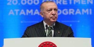 Cumhurbaşkanı Erdoğan: Okullarımızı açık tutmakta ve en iyi eğitim öğretimi vermekte kararlıyız