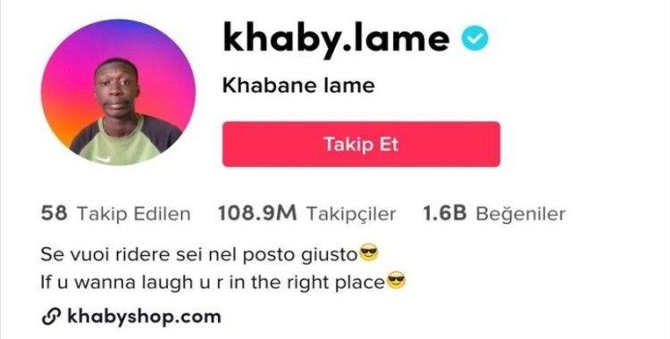 Senegalli Khabane Lame, TikTok'ta 100 milyon aboneyi geçen 2'nci kullanıcı oldu