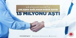 """Bakan Gül: """"Arabuluculuk hukuk sistemimiz için büyük bir kazanım"""""""