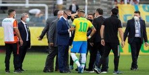 Güney Amerika Futbol Konfederasyonu: 'Maç hakkındaki kararı FIFA Disiplin Kurulu verecek'