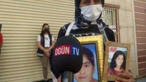 Evlat nöbetindeki acılı anne HDP ve PKK'dan kızını istedi