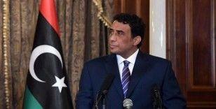Libya Başkanlık Konseyi Başkanı el-Menfi, ülkede ulusal uzlaşı projesinin başladığını ilan etti