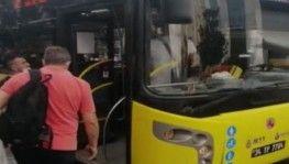 Otobüste fazla yolcu aldın ilerle kavgası