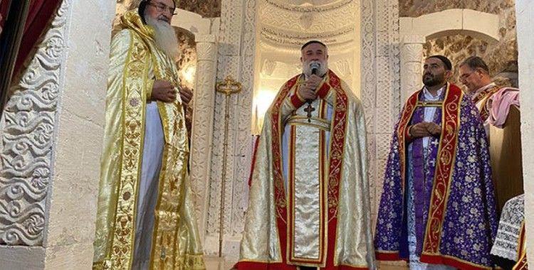 Midyat'ta Süryani cemaatinden 30 yıl sonra papaz töreni
