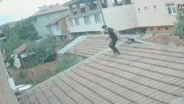 Ninja intikamı kamerada