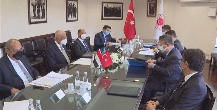 Türkiye-Mısır siyasi istişarelerinin ikinci turu Ankara'da başladı