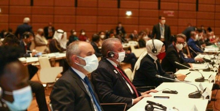 TBMM Başkanı Şentop, Viyana'da düzenlenen 5. Dünya Parlamento Başkanları Konferansı'nda