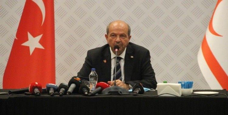 KKTC Cumhurbaşkanı Tatar: 'Türkiye, Kıbrıs Türklerini hiçbir zaman yalnız bırakmamıştır'