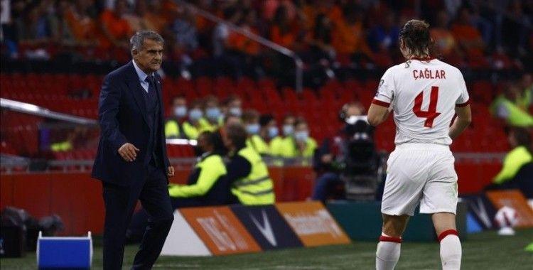 Milli futbolcu Çağlar Söyüncü'den kırmızı kart özrü