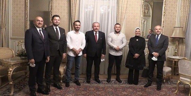 TBMM Başkanı Şentop, Viyana'da Türk toplumu temsilcilerini kabul etti