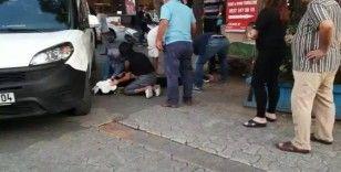 Ataşehir'de feci kaza: Gence önce çarptı sonra ezdi