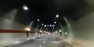 Erzurumlu vatandaşın Ovit Tüneli'nden geçerken yaşadığı sevinç milyonlara ulaştı