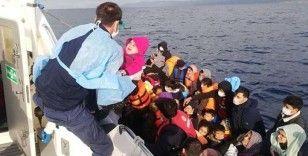 9 ayda Yunanistan'ın geri ittiği 1541 kaçak göçmen kurtarıldı
