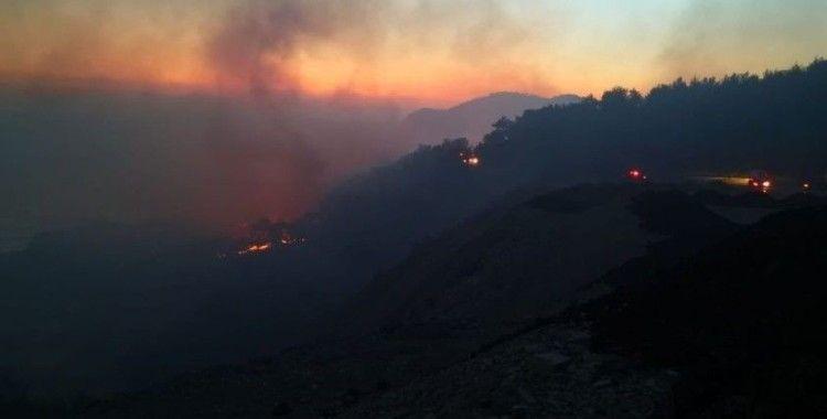 Anamur'da çıkan orman yangını kontrol altına alındı