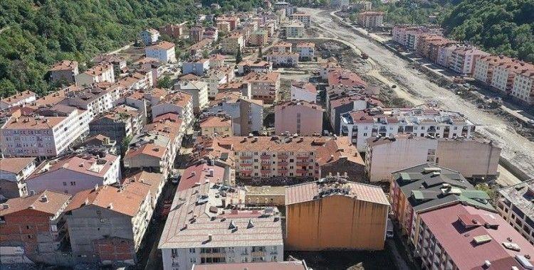 Bakan Yanık: (Kastamonu, Bartın ve Sinop sel afeti) Şimdiye kadar 50 hanemizin tefrişatını gerçekleştirdik