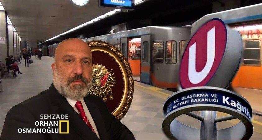 Metro'daki 'M' harfi gitti 'U' harfi geldi..