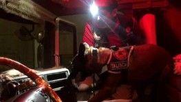 Tıra gizlenen 20 kilogram eroini Talisca buldu