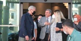 BM Mülteciler Yüksek Komiseri Filippo Grandi Beyazgül'ü ziyaret etti