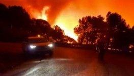 İspanya'da orman yangınında bir itfaiyeci hayatını kaybetti