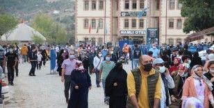 740. Ertuğrul Gazi'yi Anma ve Yörük Şenlikleri'ne Türkiye'nin dört bir yanından insan seli oldu