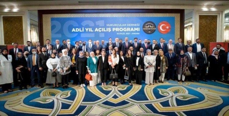 Bakan Gül: 'Hedefimiz 23 yılına kadar güven veren ve erişilebilir bir adalet sistemini egemen kılmak'