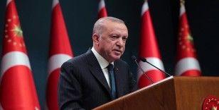 Cumhurbaşkanı Erdoğan, İdlib'de şehit olan askerlerin ailelerine başsağlığı mesajı gönderdi