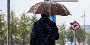 Meteorolojiden yurdun bazı kesimleri için sağanak uyarısı