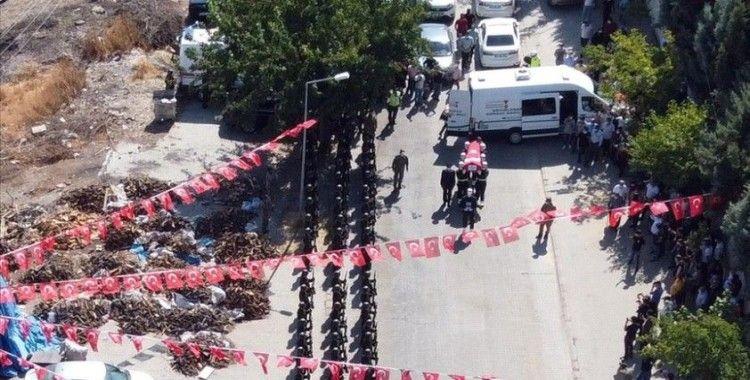 Şehit Uzman Çavuş Ramazan Demir, Kahramanmaraş'ta son yolculuğuna uğurlandı