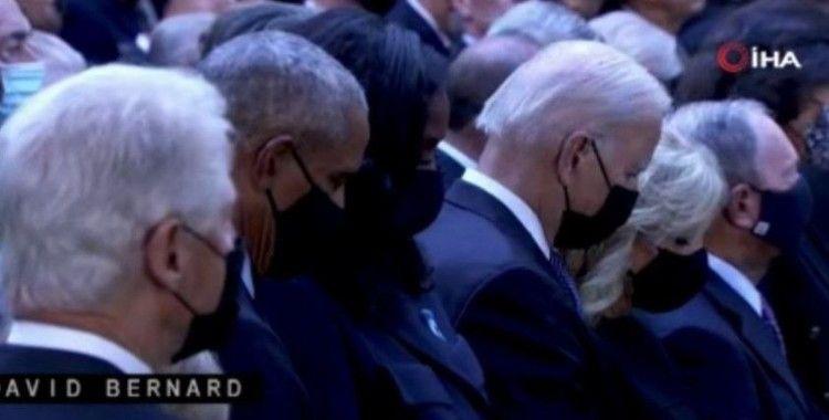 New York'ta 11 Eylül saldırılarında ölenler törenle anıldı