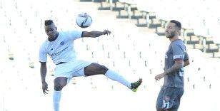 Süper Lig: Fatih Karagümrük: 2 - Adana Demirspor: 0 (İlk yarı)