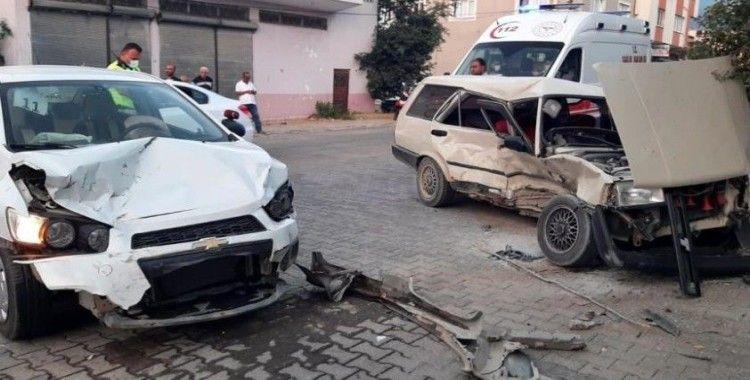 Osmaniye'de trafik kazası, 5 yaralı