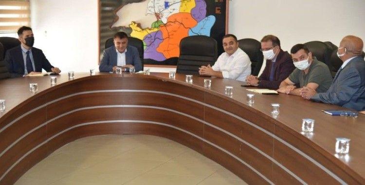 İl Sağlık Müdürü Prof. Dr. Mahmut Sünnetçioğlu, başkanlığında, aşı değerlendirme toplantısı gerçekleştirildi