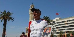 Kızı dağa kaçırılan baba İzmir'den Ankara'ya 'Umut' yürüyüşüne başladı