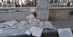 El Bab'ta restoranın önüne yerleştirilen bomba imha edildi