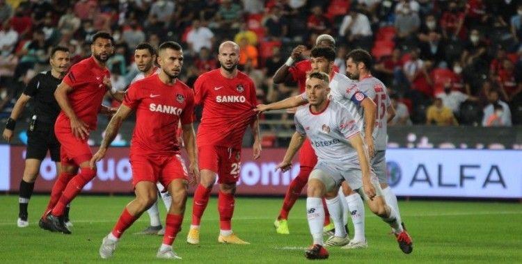 Süper Lig: Gaziantep FK: 0 - FTA Antalyaspor: 0 (İlk yarı)
