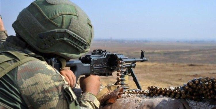 Fırat Kalkanı bölgesine taciz atışı yapan 4 PKK/YPG'li terörist etkisiz hale getirildi
