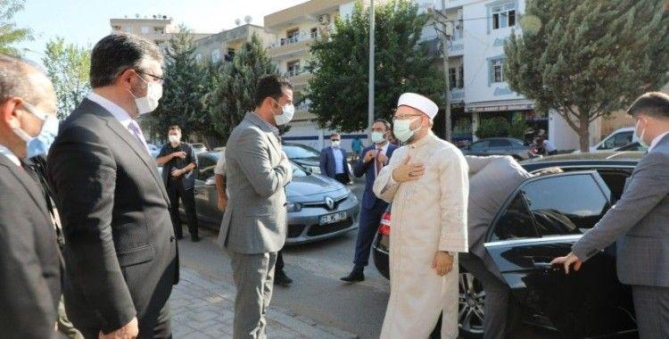 Diyanet İşleri Başkanı Ali Erbaş, Gençlik ve Kültür Merkezini ziyaret etti