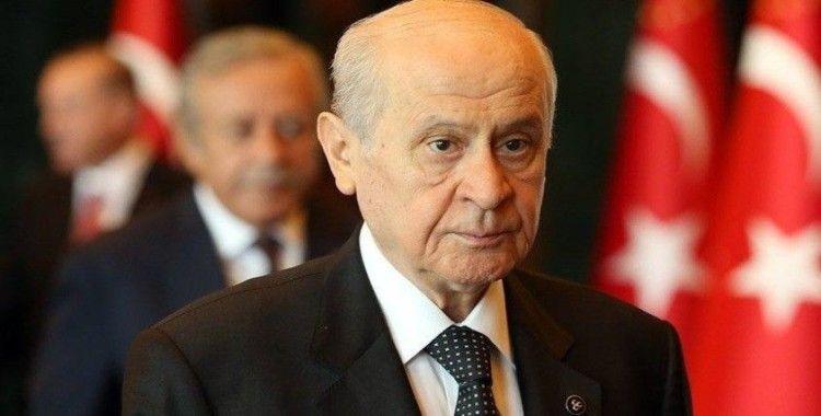 MHP Genel Başkanı Bahçeli: 'Ne dinimize laf söyletiriz ne de Cumhuriyet'in laiklik sütununu kırdırırız'