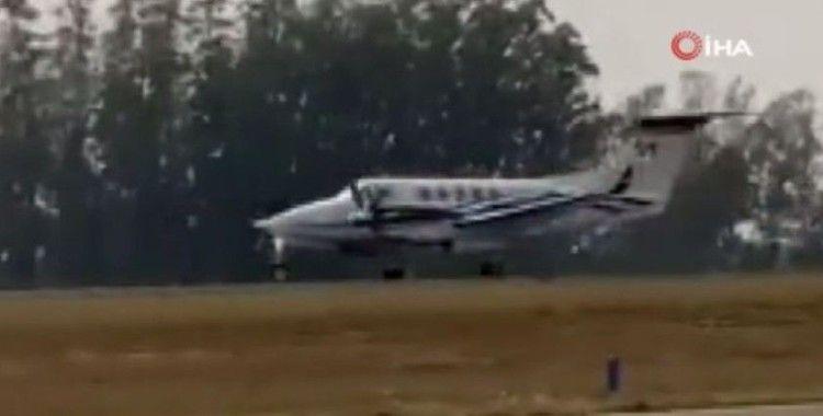 Brezilya'da uçak düştü: 7 ölü