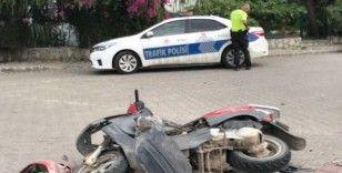 Fethiye'de trafik kazası: 1 ağır yaralı