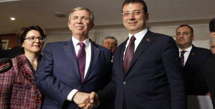 İmamoğlu: Dünya Başkent Belediye Başkanı ödülünü alan Mansur Başkan'ımıza tebrikler