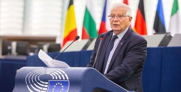 AB Yüksek Temsilcisi Borrell: Taliban'ı tanımasak da ilişki kurmalıyız