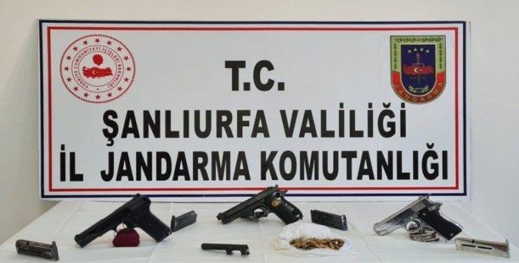 Şanlıurfa'da silah kaçakçılığı operasyonu: 2 gözaltı