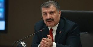 """Sağlık Bakanı Fahrettin Koca: """"Risk haritasında turuncu ilimiz kalmadı"""""""