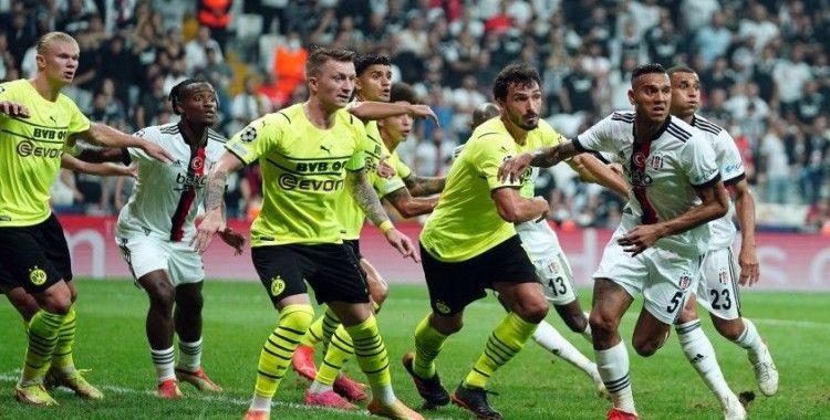 UEFA Şampiyonlar Ligi: Beşiktaş: 1 - Borussia Dortmund: 2 (Maç sonucu)