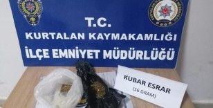 Siirt'te üzerinde uyuşturucu tespit edilen 1 kişi yakalandı