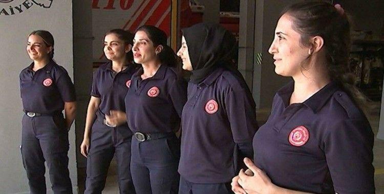 İBB itfaiye teşkilatı, 37 kadın itfaiyeciyi bünyesine kattı