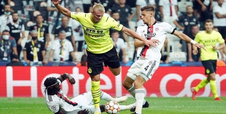 Beşiktaş bu sezonki ilk golünü Devler Ligi'nde yedi