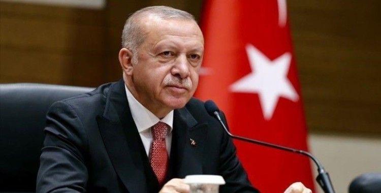 Cumhurbaşkanı Erdoğan Bakü'nün düşman işgalinden kurtuluş yıl dönümünü kutladı