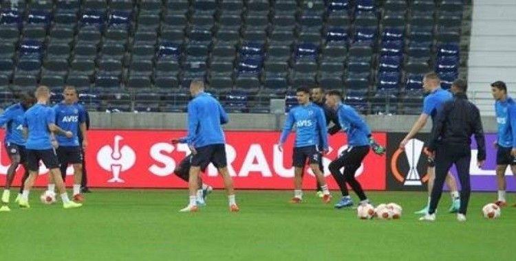 Fenerbahçe, E. Frankfurt maçı hazırlıklarını tamamladı